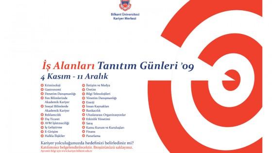 İş Alanları Tanıtım Günleri 2009 (4 KASIM-11 ARALIK) 1
