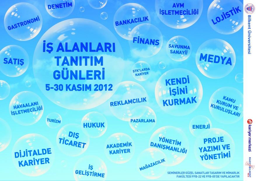 İş Alanları Tanıtım Günleri 2012 (5-30 KASIM) 1