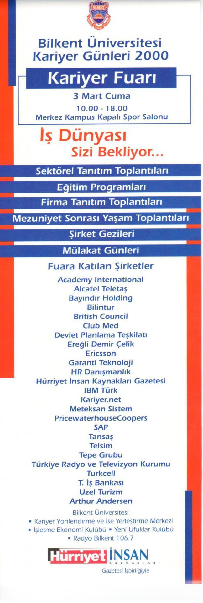 Kariyer Fuarı 2000 1
