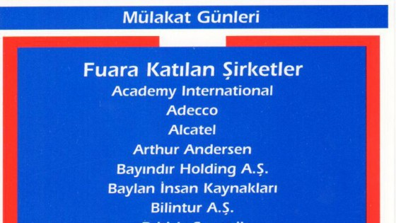 Kariyer Fuarı 2001 1