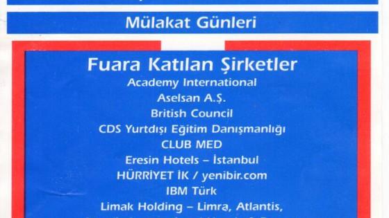 Kariyer Fuarı 2002 1