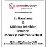 Kurumsal Tanıtım Günleri 2014 (1 EKİM 2013 - 2 MAYIS 2014) 6