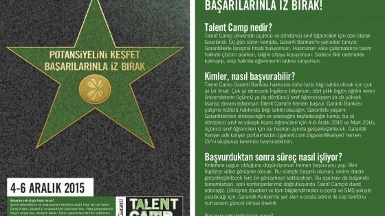 Garanti Bankası Talent Camp 1