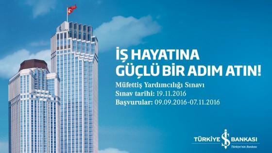 Türkiye İş Bankası Müfettiş Yardımcılığı Sınavı 1