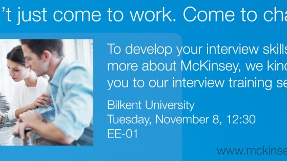 McKinsey Interview Training Session 1
