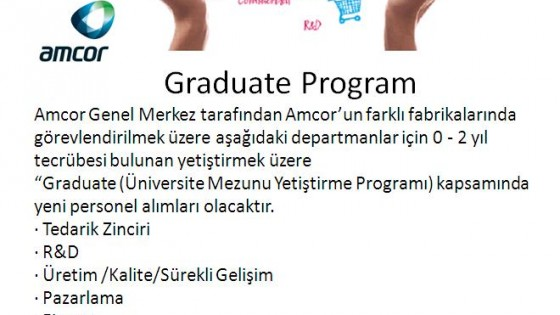 Amcor Graduate Program 1