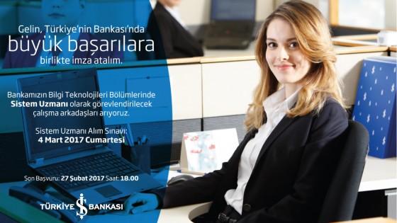İş Bankası Sistem Uzmanı Alım Sınavı 1