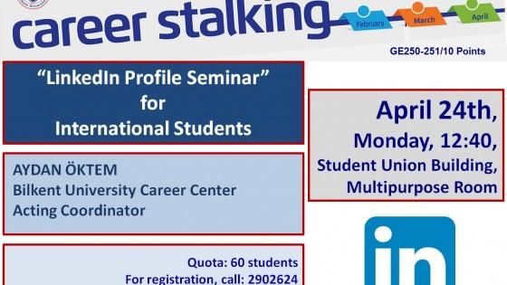LinkedIn Profile Seminar 1