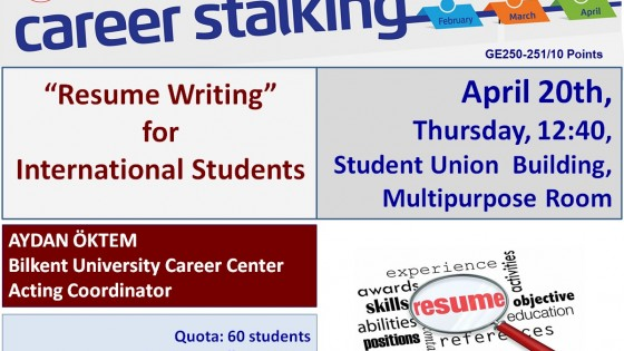 Resume Writing 1