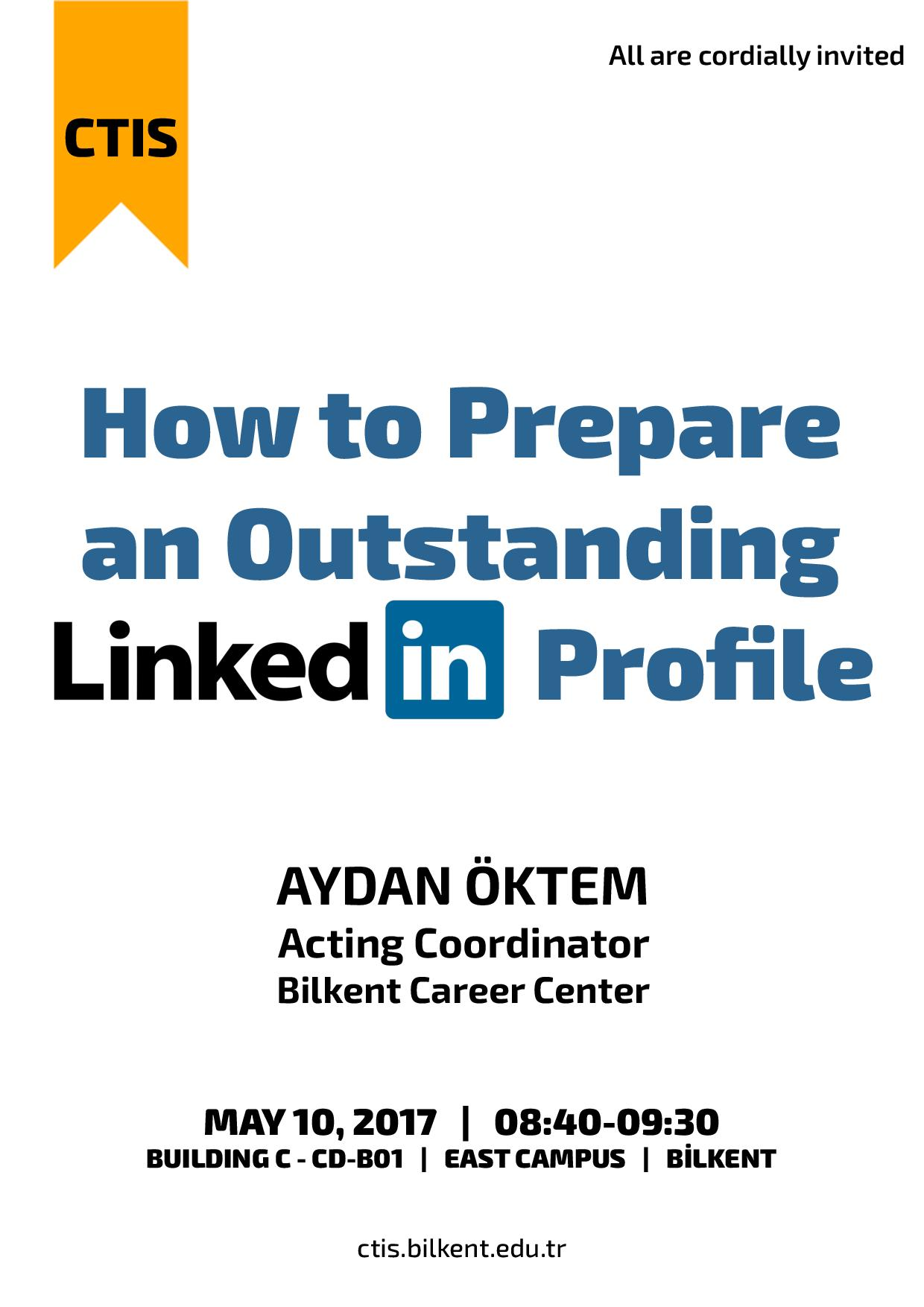 How to Prepare an Outstanding LinkedIn Profile 1