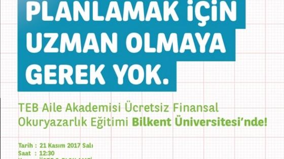 TEB Aile Akademisi Ücretsiz Finansal Okuryazarlık Eğitimi 1