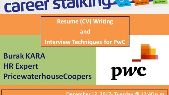Resume (CV) Writing & Interview Techniques for PwC 1