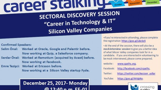 "Sectoral Discovery Session ""Career in Technology & IT"" 1"