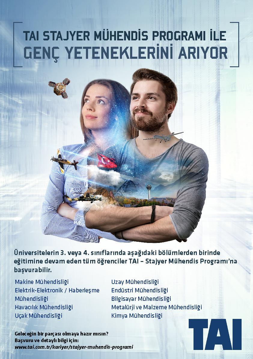 TAI Stajyer Mühendis Programı 1