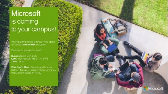 Microsoft MACH MBA Programı /FBA Ümit Berkman Seminer Odası 1