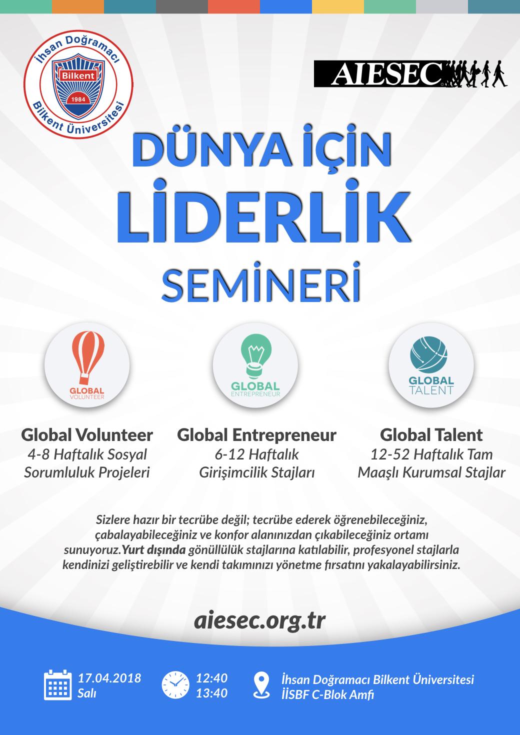 AIESEC Dünya İçin Liderlik Semineri 1