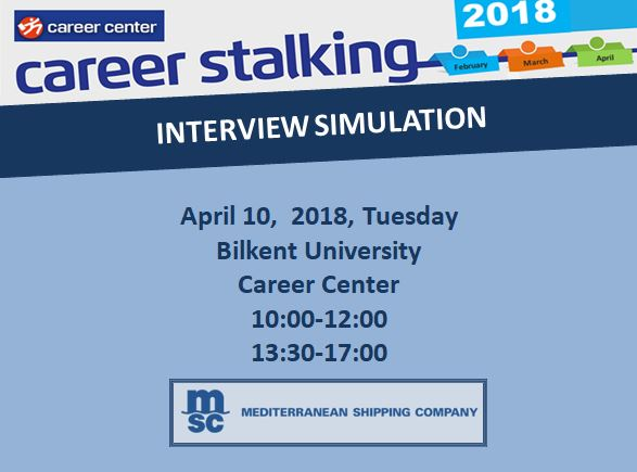 MSC Mediterranean Shipping Company Interview Simulation 1