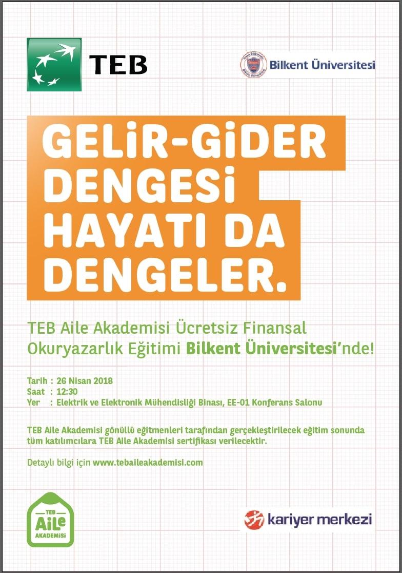 TEB Ücretsiz Finansal Okuryazarlık Eğitimi 1