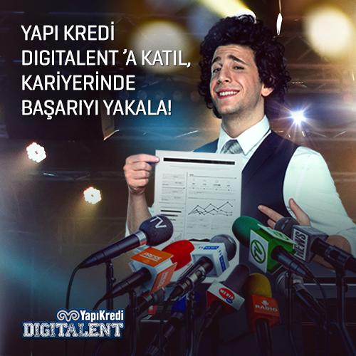 YapıKredi Digitalent Yetenek Programında 1