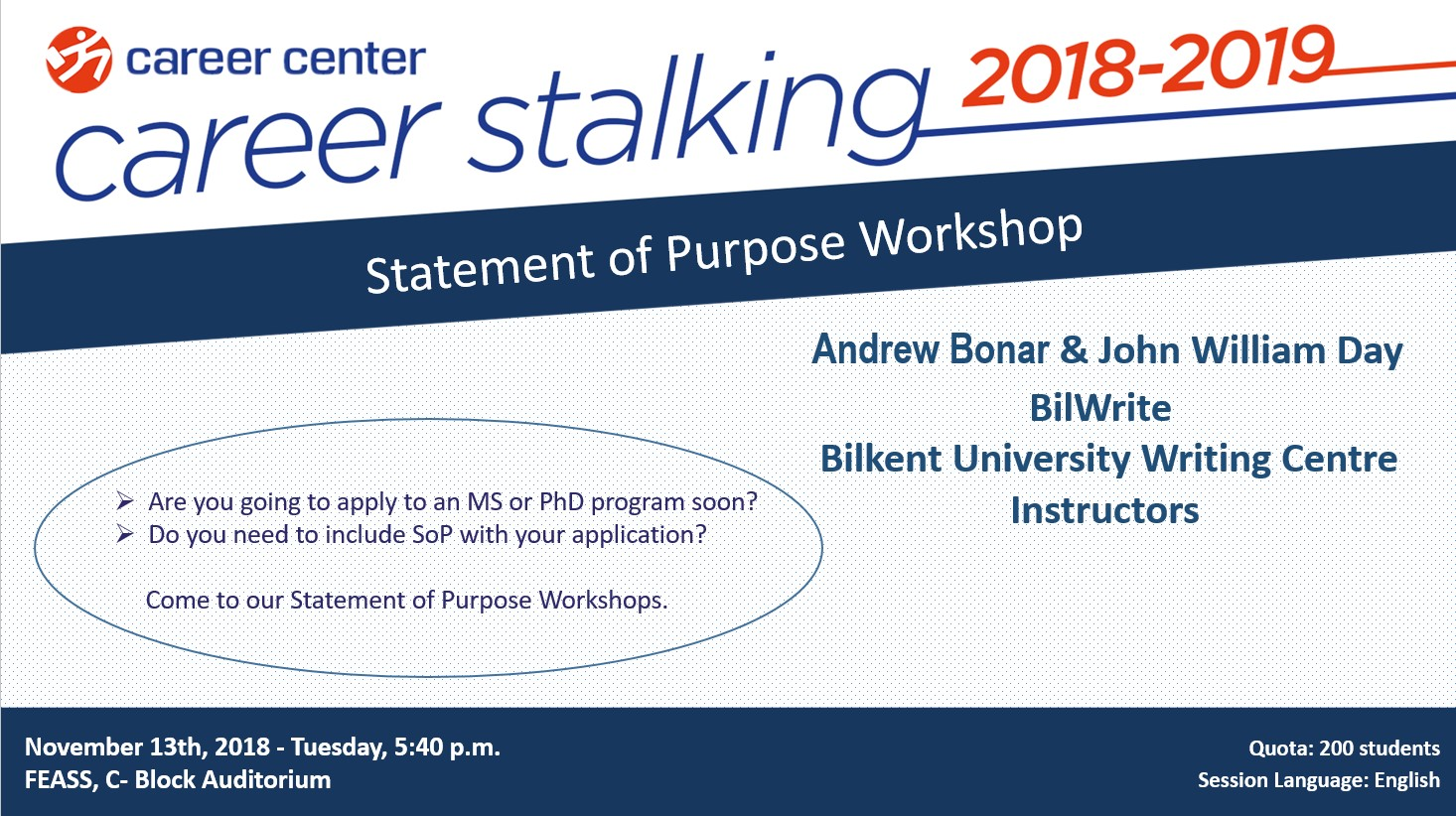 Statement of Purpose Workshop 1