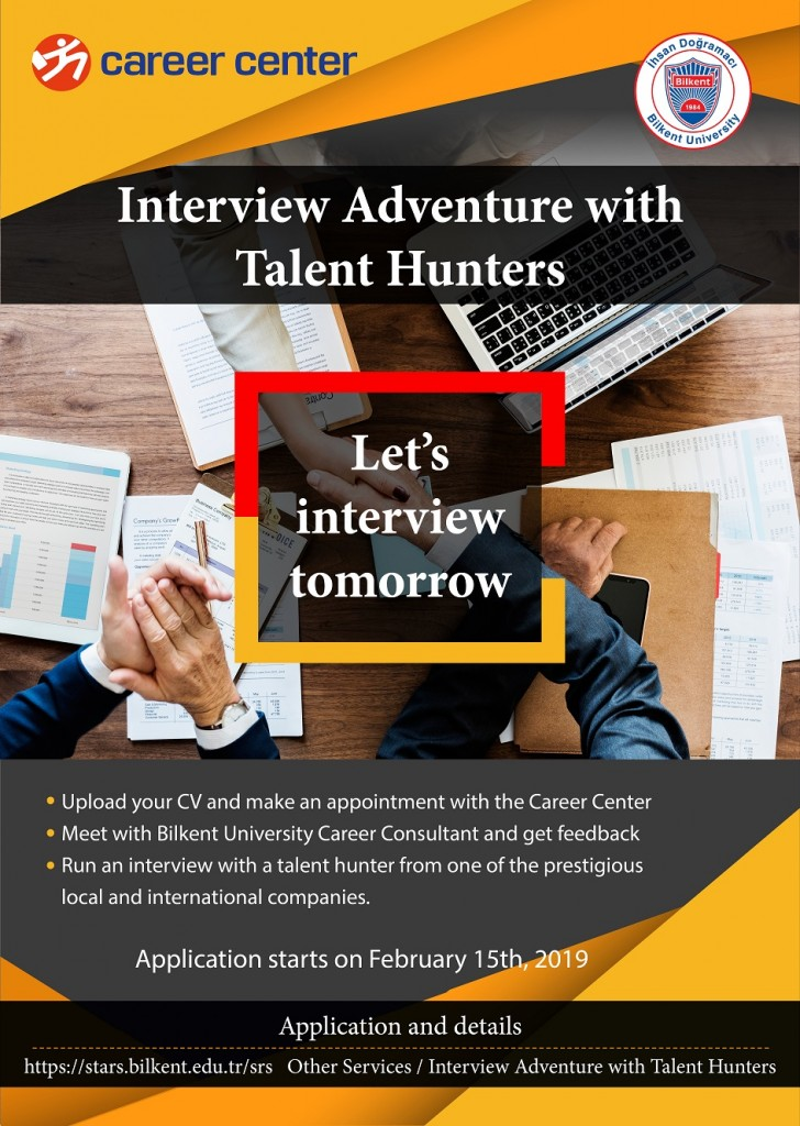 INTERVIEW ADVENTURE WITH TALENT HUNTERS 1