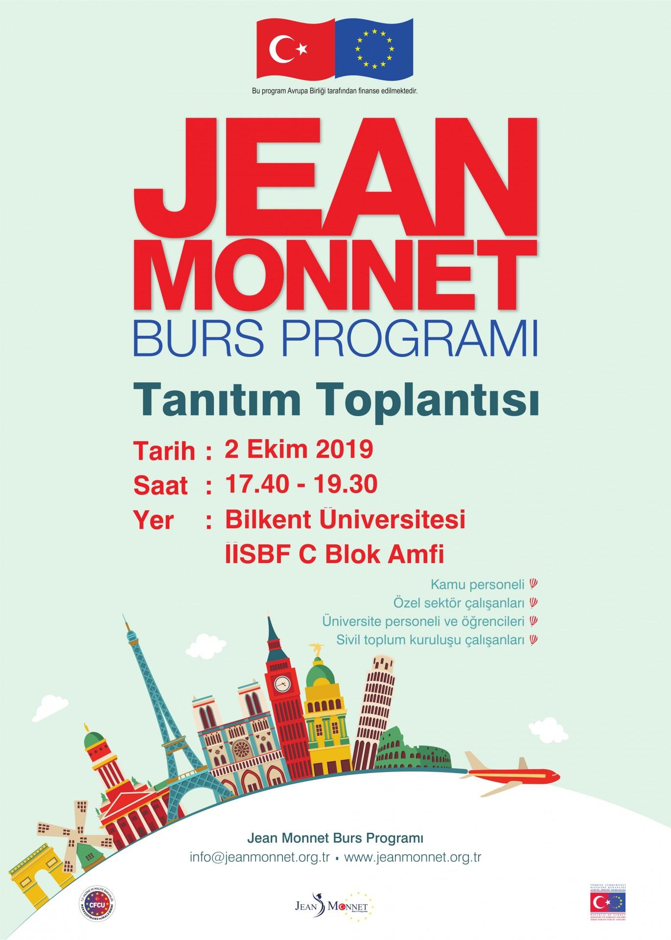 Jean Monnet Burs Programı! 1