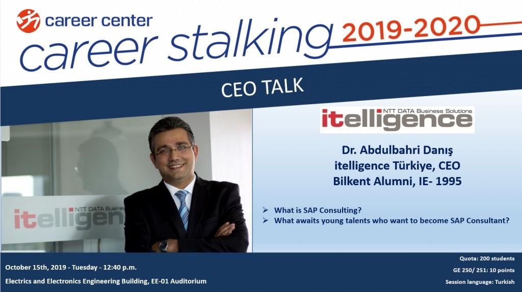 CEO TALK, ITELLIGENCE TÜRKİYE 2