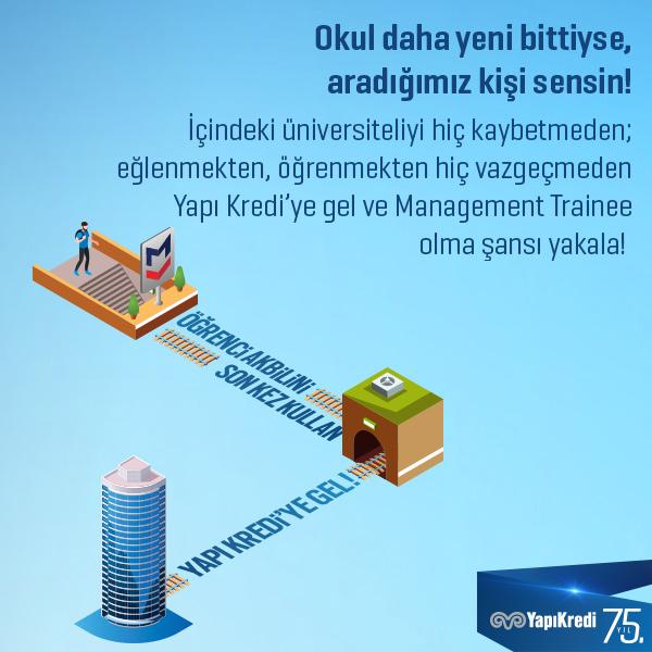 Yapı Kredi Management Trainee Programı 1