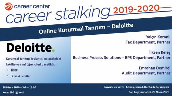 Online Kurumsal Tanıtım – Deloitte 1
