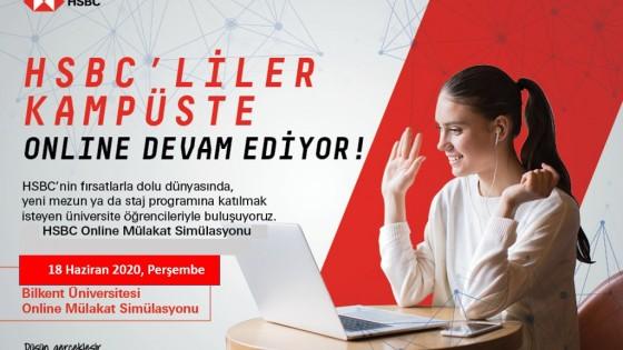 HSBC BANK ÇEVRİMİÇİ MÜLAKAT SİMÜLASYONU 1